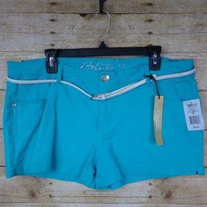 Celebrity Blues Shorts - NWT - Size 17